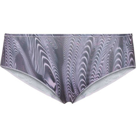 Odlo The Invisibles Print Suw Bragas Pack de 2 Mujer, gris/blanco